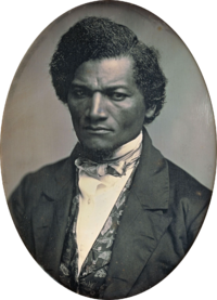 Ex-slave and prominent anti-slavery advocate Frederick Douglass opposed the Mexican–American War.