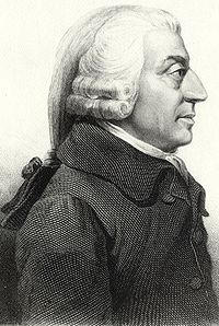 One leader of the Scottish Enlightenment was Adam Smith, the father of modern economic science