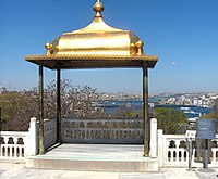 The gilded Iftar bower of Topkapi Palace where the Ottoman sultan-caliphs would break the fast