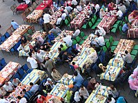 A 2005 iftar in Cairo