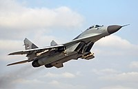 Serbian Air Force MiG-29 fighter