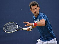 Novak Djokovic, considered one of the greatest tennis players of all time