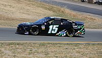 Ross Chastain's No. 15 Chevrolet at Sonoma in 2019
