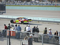 Mears' 2007 Cup car