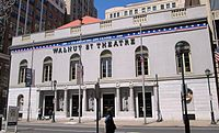Walnut Street Theatre, founded in 1809, the oldest continuously operating theatre in the English-speaking world