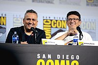Directors Joe & Anthony Russo at the 2019 San Diego Comic-Con