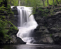 Fulmer falls in the Childs Recreation Area