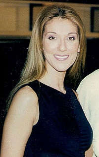Celine Dion during the promotion of Let's Talk About Love, 1998.