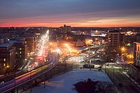 Cambridge, Massachusetts, has a high concentration of startups and technology companies.