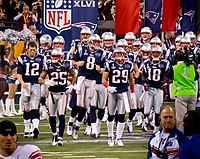 The New England Patriots are the most popular professional sports team in New England.
