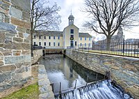 The Slater Mill Historic Site in Pawtucket, Rhode Island