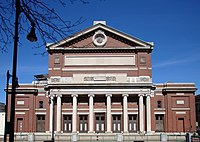 Boston's Symphony Hall is the home of the Boston Symphony Orchestra—the second-oldest of the Big Five American symphony orchestras.