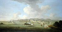 New England's Siege of Louisbourg (1745) by Peter Monamy