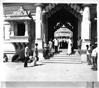 Somnath Temple in 1957