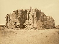 Ruined Somnath temple, 1869