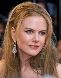 Kidman at the 2001 Cannes Film Festival premiere of Moulin Rouge!