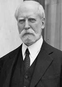 Taft insisted that Charles Evans Hughes succeed him as chief justice.