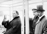 Taft with Archibald Butt (second from right)