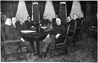 """<div style=""""text-align: center;"""">Taft's second cabinet, 1912"""