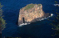 Cathedral Rock (off the north coast)