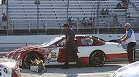 Lepage's 2009 No. 52 Jimmy Means Nationwide car