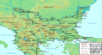 The northern Balkans in the 6th century.