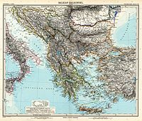 The Balkans at the end of the 19th century
