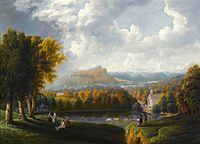 Robert Havell, Jr., View of the Hudson River from Tarrytown, c. 1866