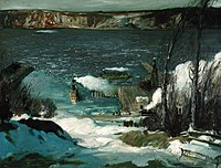 North River by George Bellows, 1908, Pennsylvania Academy of the Fine Arts