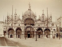 St Mark's Basilica in Venice, where the Gabrieli's innovations in orchestration were first heard
