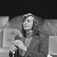 Gibb performing in 1973