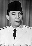 Under Sukarno, Indonesia became the first and only country to leave the United Nations following displeasure towards the organization.