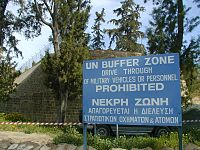 The UN Buffer Zone in Cyprus was established in 1974 following the Turkish invasion of Cyprus.
