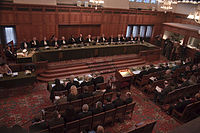 The court ruled that Kosovo's unilateral declaration of independence from Serbia in 2008 did not violate international law.