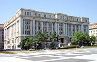 The John A. Wilson Building houses the offices of the mayor of Washington and the Council of the District of Columbia.