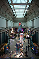The Hall of Ocean Life at the National Museum of Natural History, part of the Smithsonian Institution