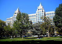 One Franklin Square: The Washington Post Building on Franklin Square