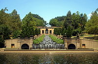 Meridian Hill Park, in Columbia Heights