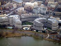 The Watergate complex was the site of the Watergate Scandal, which led to President Nixon's resignation.