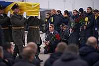 Commemoration of the victims of the air crash in Iran