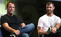South Park creators Trey Parker (left) and Matt Stone continue to do most of the writing, directing and voice acting on the show