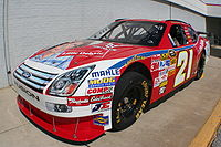 2008 No. 21 Sprint Cup car