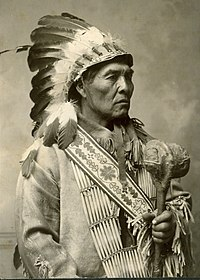 Photo of Modoc Yellow Hammer taken by Joseph Andrew Shuck before 1904. From the Lena Robitaille Collection at the Oklahoma Historical Society Photo Archives.