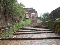 The way inside the fort