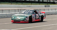 Mast's No. 75 racecar from 1997