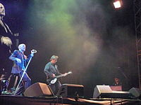 R.E.M. on tour in 2008, with long-time collaborator Scott McCaughey