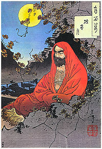 Bodhidharma lived during the 5th or 6th century and is traditionally credited as the transmitter of Chan Buddhism to China.