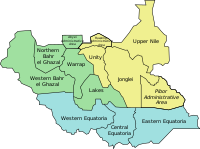States of South Sudan