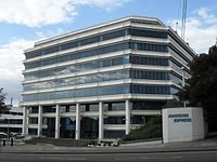 Amex House in Brighton, England, was built in 1977.