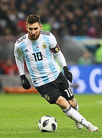Lionel Messi, six times FIFA Ballon d'Or winner, is the current captain of the Argentina national football team.